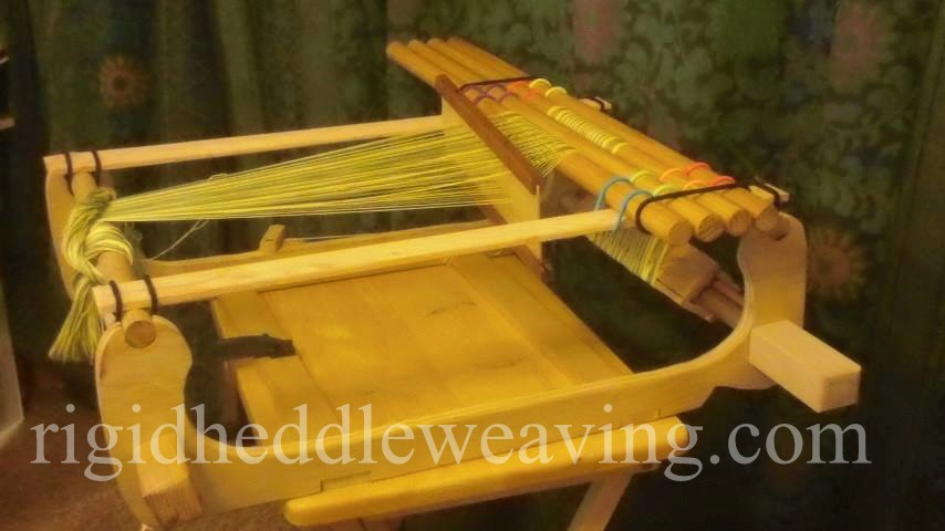 Simple Tension Device for Weaving