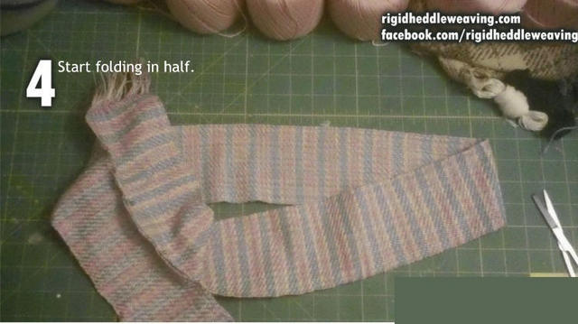 How to make a Tibetan bag step 4
